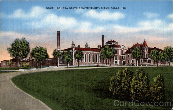 South Dakota State Penitentiary Sioux Falls Sd