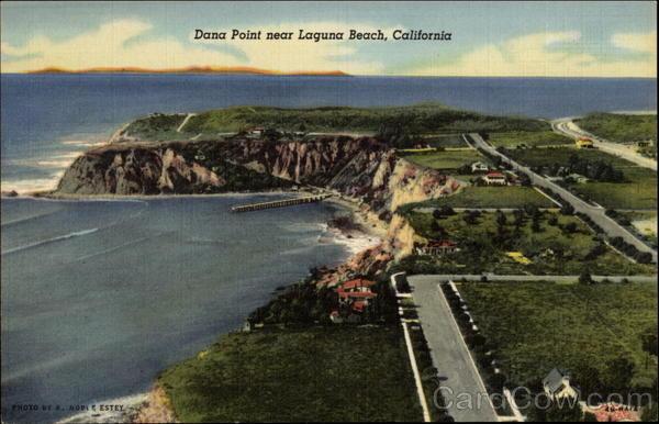 Dana Point near Laguna Beach California