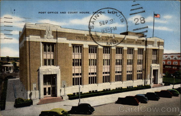 Post Office and Court House Abilene Texas