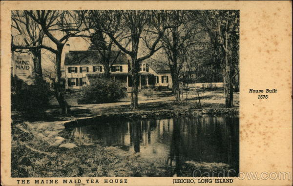 The Maine Maid Tea House, Jericho Long Island New York
