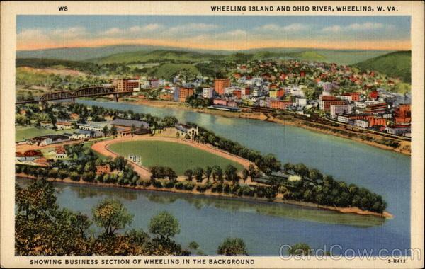Wheeling Island And Ohio River West Virginia