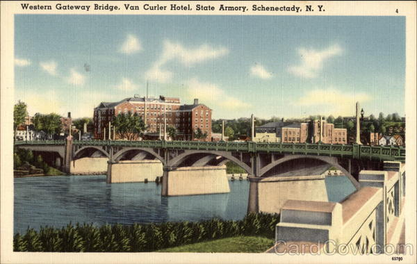 Western Gateway Bridge Schenectady New York