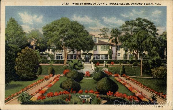 Winter Home of John D. Rockefeller Ormond Beach Florida