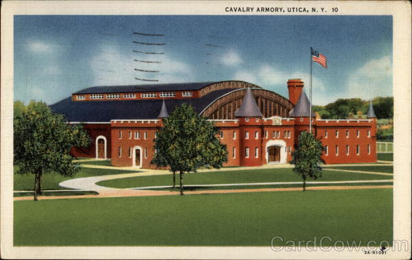 Cavalry Armory Utica New York