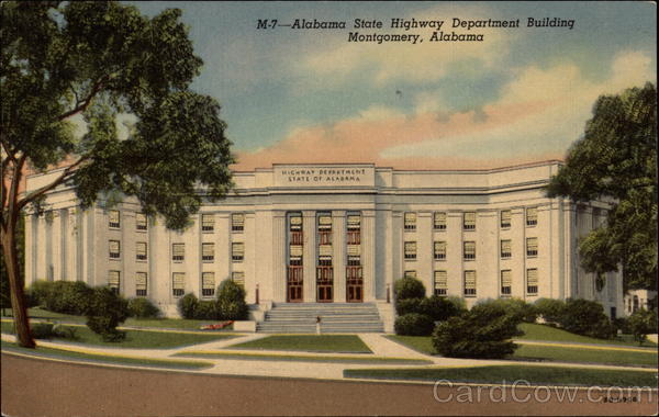Alabama State Highway Department Building Montgomery