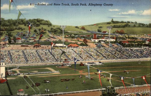 Rodeo and Race Track South Park Pennsylvania