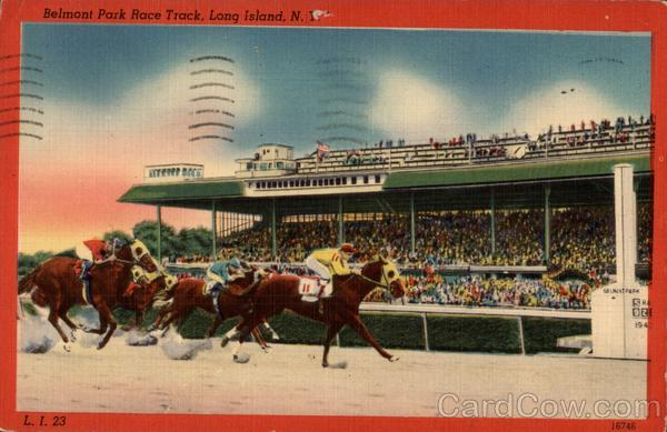 Belmont Park Race Track New York