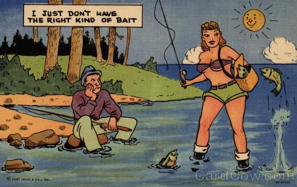 I Just Don't Have the Right Kind of Bait Comic, Funny