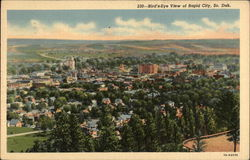 Bird's-Eye View of Rapid City, So. Dak