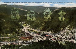 Shades of the Days of '76 Look Down on Deadwood