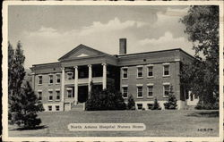 North Adams Hospital Nurses Home Postcard