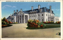 Residence of the Late Colonel E.H.R. Green, Round Hills So