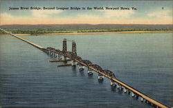 James River Bridge, Second Longest Bridge in the World