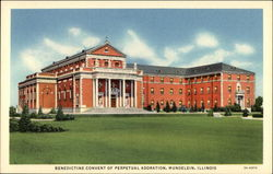 Benedictine Convent of Perpetual Adoration Postcard