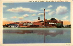 View of the A. Hormel & Co. on Cedar River