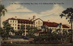 Main Hospital Building, Rear View - U.S. Veterans Home