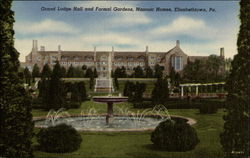 Grand Lodge Hall and Formal Gardens, Masonic Homes