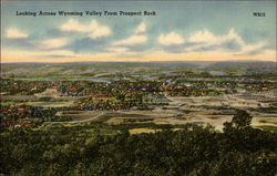 Looking Across Wyoming Valley from Prospect Park