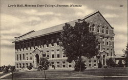 Lewis Hall, Montana State College