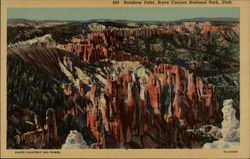 893 Rainbow Point, Bryce Canyon National Park, Utah Postcard