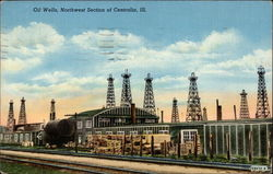 Oil Wells, Northwest Section