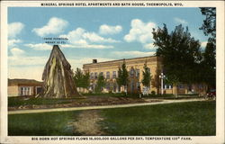 Mineral Springs Hotel, Apartments and Bath House