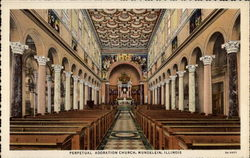 Perpetual Adoration Church Postcard