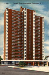 Cornell Arms Apartments Postcard
