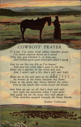 Cowboys' Prayer