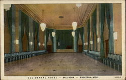 Occidental Hotel, Ball Room
