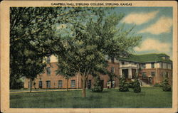 Campbell Hall, Sterling College Postcard