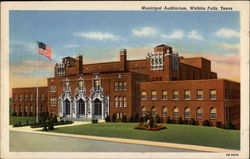 Municipal Auditorium Postcard