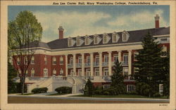 Ann Lee Carter Hall - Student Center, Mary Washington College of the University of Virginia