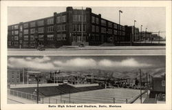 Butte High School and Stadium