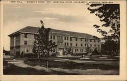 New Hall - Women's Dormitory, Montana State University
