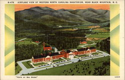 Airplane View of Western North Carolina Sanatorium, Near Black Mountain, N.C