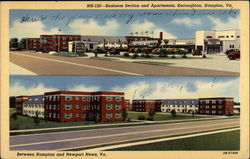 Business Section and Apartments, Kecoughtan