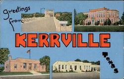 Greetings from Kerrville