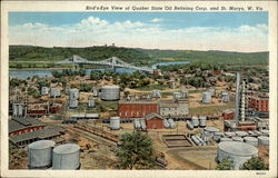 Bird's Eye View of Quaker State Oil Refinining Corp