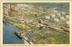 Aerial View of Imperial Oil Refinery