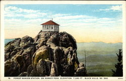 Forest Ranger Station, on Harney Peak