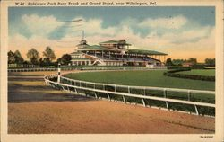 Delaware Park Race Track and Grand Stand