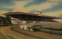 Arlington Race Track Postcard