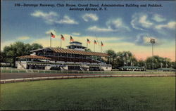 Saratoga Raceway Club House, Grand Stand, Administration Building and Paddock