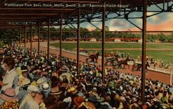 "Washington Park Race Track, ""America's Finest Stand"""