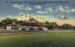 Saratoga Raceway, Club House, Grand Stand, Administration Building and Paddock