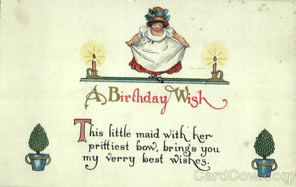 The Little Maid: A Birthday Wish