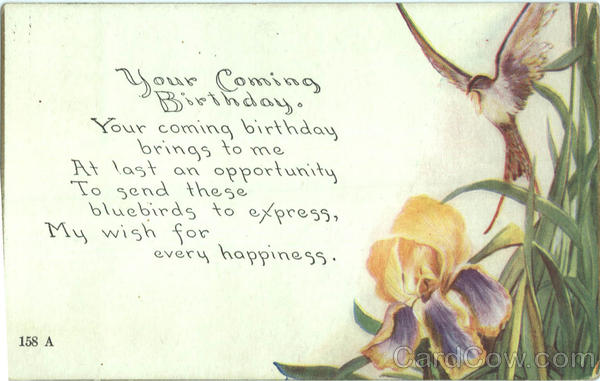 Your Coming Birthday