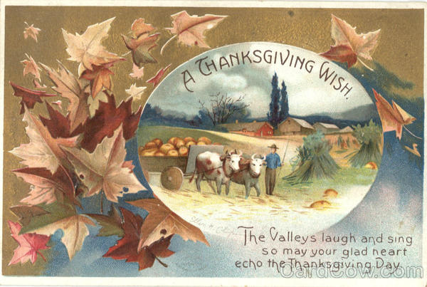 A Thanksgiving Wish Ellen Clapsaddle