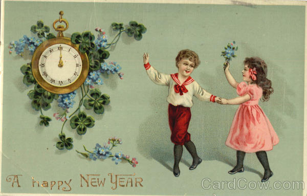 A Happy New Year - Children New Year's